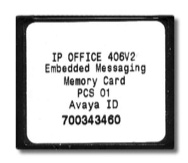 Avaya IP Office Embedded Voicemail for 1p406